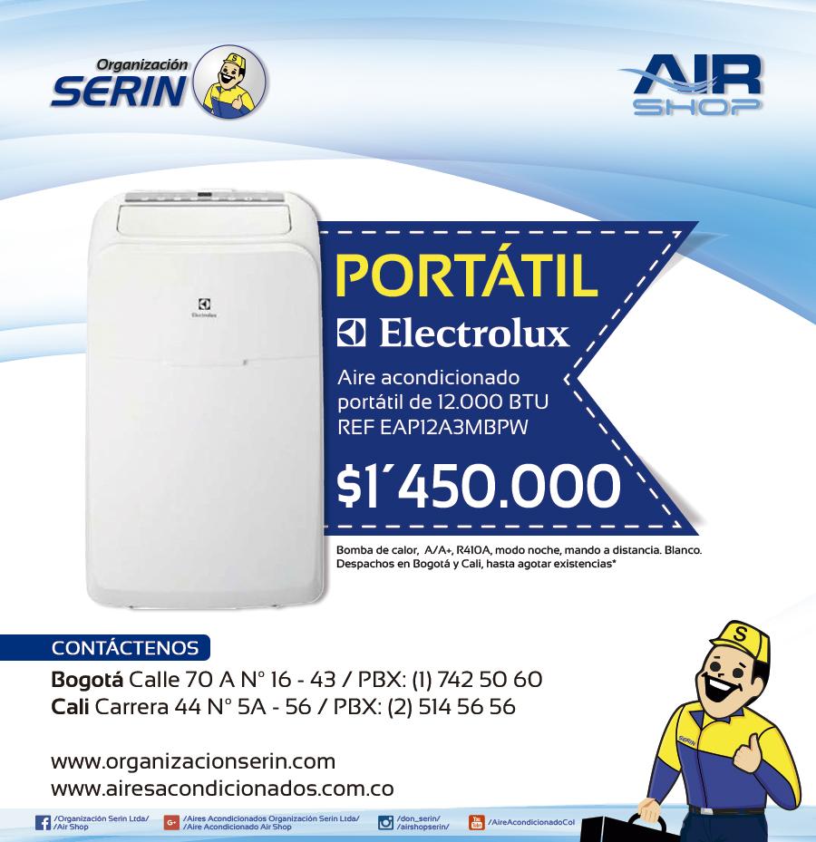Aire acondicionado port til venta aire acondicionado for Alquiler de equipos de aire acondicionado